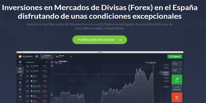 Inversiones en Forex con IQ Option